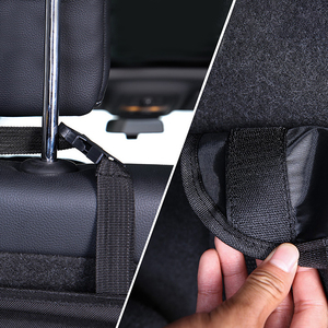 Image 5 - Car Trunk Organizer Car Rear Seat Back Storage Bag Net High Capacity Hanging Tidying Interior Pouch Auto Accessories Supplies