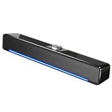 TV Sound Bar altoparlante Bluetooth cablato e Wireless Subwoofer Home Surround SoundBar per PC Computer Theater TV altoparlante alimentato tramite USB
