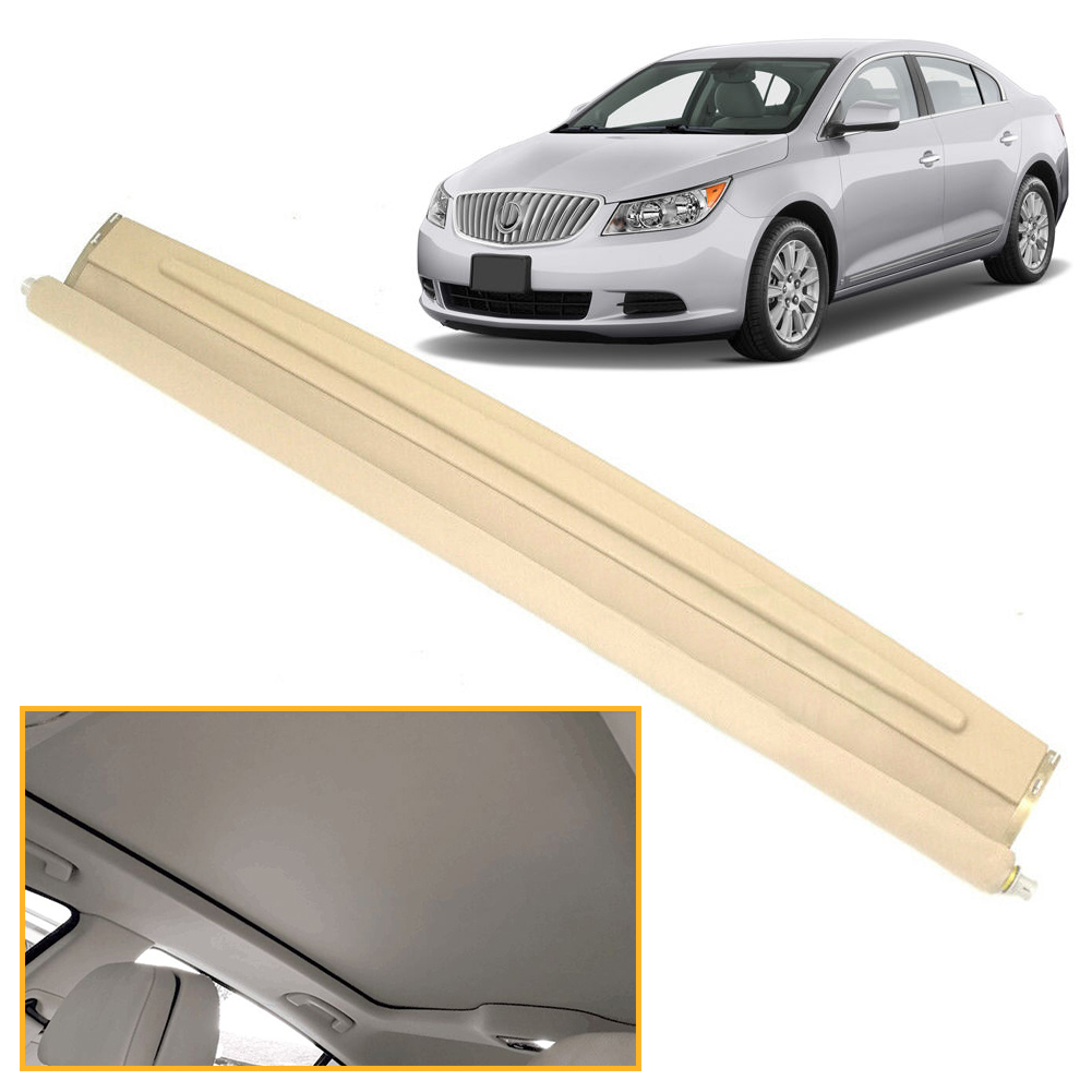 Car Sunshade Sunroof Sun Roof Shade Cover For Buick GM 2010 2011 2012 2013 2014 2015 2016 LaCrosse Car Assesories Beige