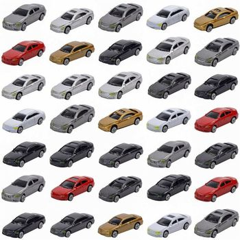 50pcs HO Scale Model Car 1:87 Building Train Scenery NEW C100 63HE image