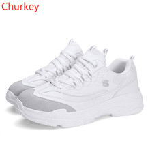 Women Casual Shoes  Spring/Autumn Off White 2018 Couple Men Fashion Sneakers Sports