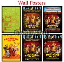 Fantastic Mr. Fox White Kraft Paper poster Wall Poster Art Crafts Cafe Bar Decor Sticker 42X30cm цена 2017