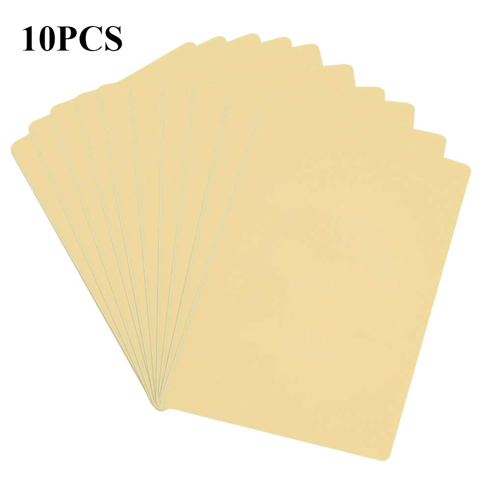 10pcs 15*20*0.12cm Silicone Rubber Extra Thick Tattoo Practice Skin Blank Synthetic Tattoo Skin 2 Sides Can Be Usable
