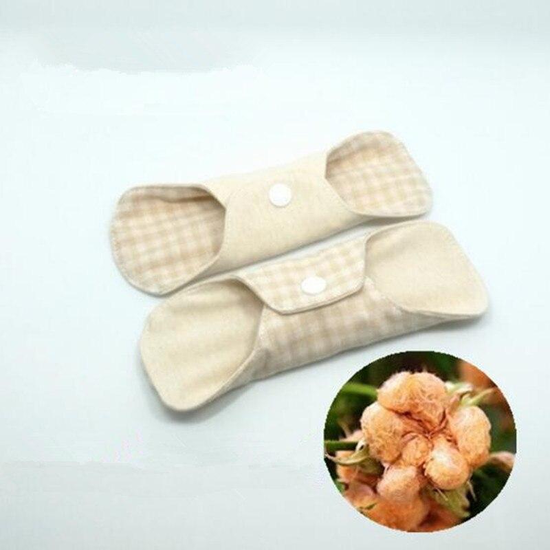 Reusable Menstrual Cloth Thin Menstrual Pad Washable Panty Liner Double-sided Color Organic Cotton Sanitary Pad Feminine Hygiene
