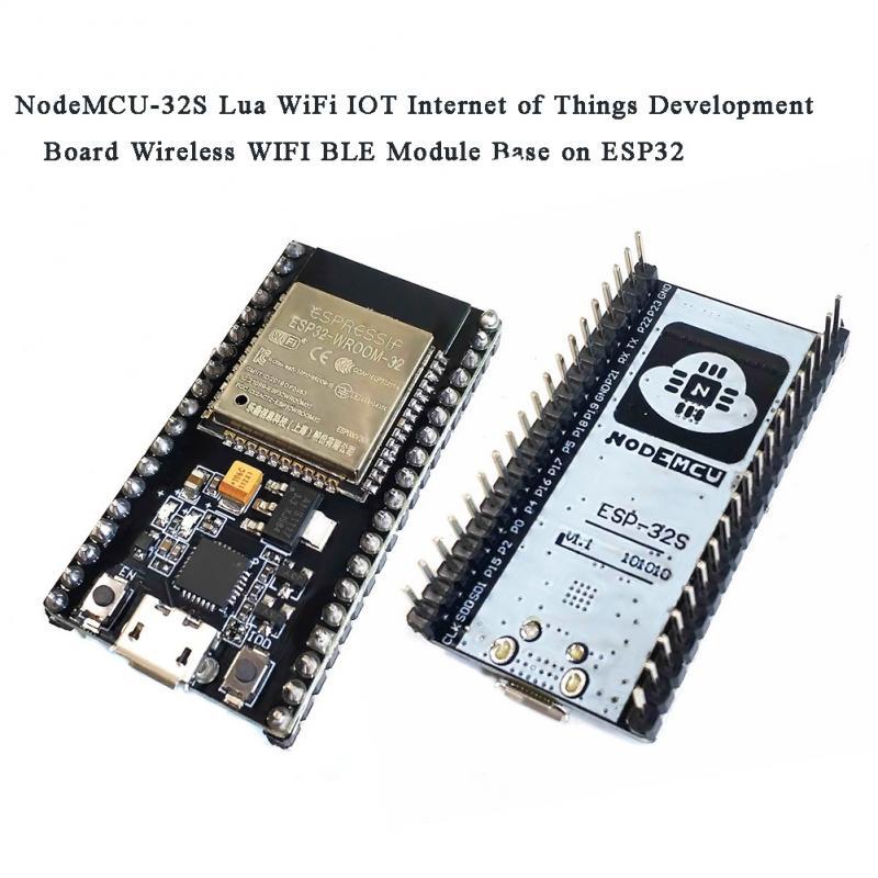 NodeMCU-32S lua wifi iot placa de desenvolvimento esp32s duplo-núcleo módulo sem fio wi fi ble módulo ESP-WROOM-32 ESP-32S esp32 ESP-32