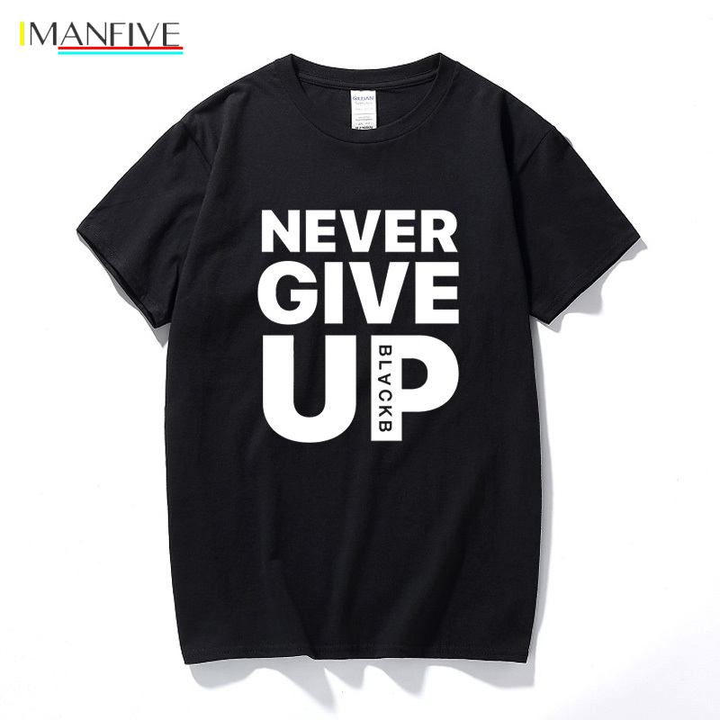 Never Give Up T shirt Salah Barcelona 4 0 Tee Fan Football T shirt Premium Quality Cotton Streetwear Casual Tops in T Shirts from Men 39 s Clothing