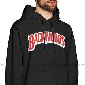 Image 2 - Backwoods Hoodie Backwoods Logo Hoodies büyük boy kırmızı svetşört erkek uzun kollu sıcak gevşek pamuklu şık Hoodies