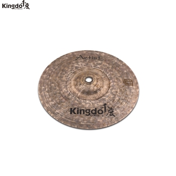 Kingdo Artist Dark series B20 100% handmade cymbal 10splash cymbal for drums set kingdo b20 collection jazz series 10 splash cymbal for drum set cymbal set