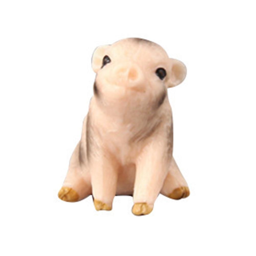 Simulation Tier Schwein Modell Spielzeug Figur Dekor Kunststoff Kinder Geschenk*