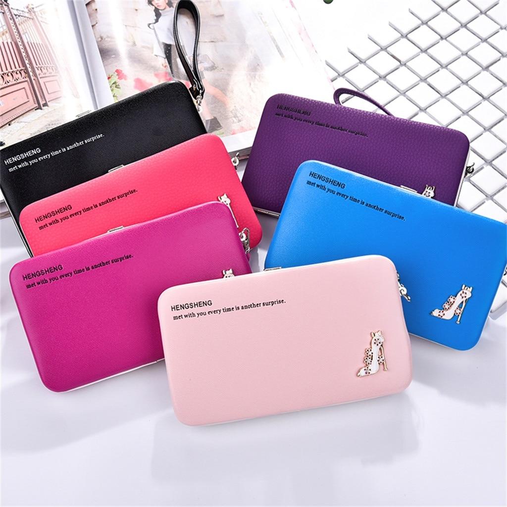 Long Wallet Money-Paper Clutch-Bag-Card Best-Card-Holder Multi-Function Men Package Casual
