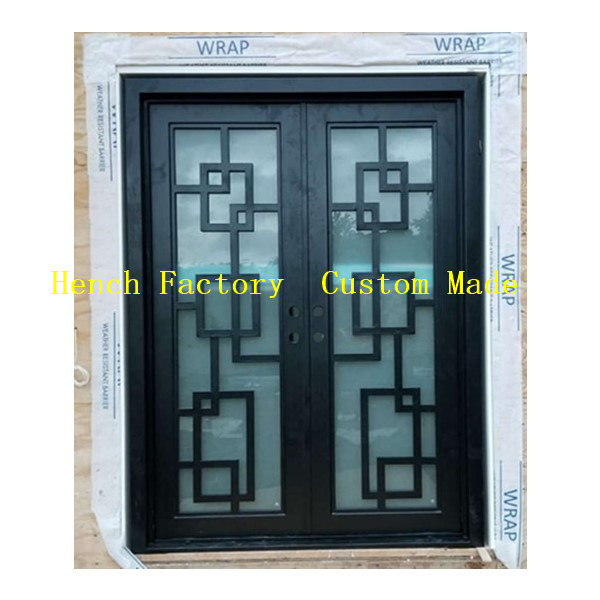 Shanghai Hench Brand China Factory 100% Custom Made Sale Australia Readymade Iron Doors