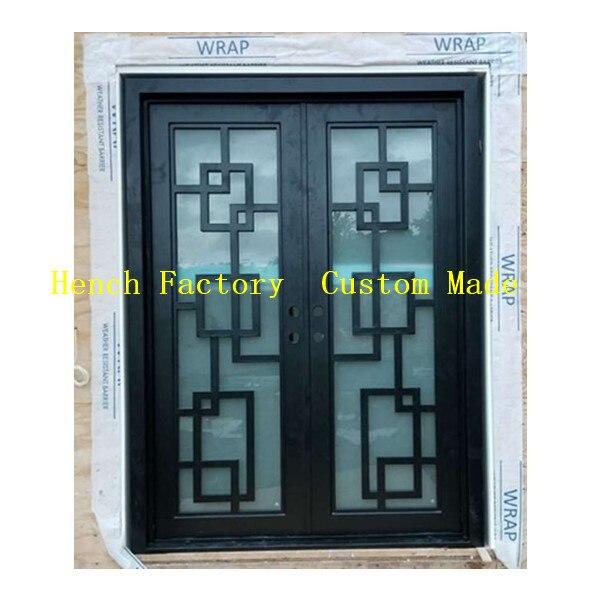 Shanghai Hench Brand China Factory 100% Custom Made Sale Australia Readymade Iron Doors