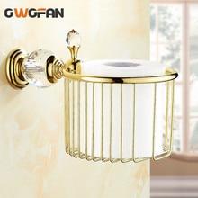цены Luxury Golden Wall Soap Holder Decorative Crystal Bathroom Accessories Metal Basket Shower Soap Dish Retro Brass Soap Box 4553K
