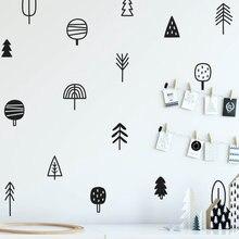 Милые деревянные наклейки на стены из сосны художественные стену