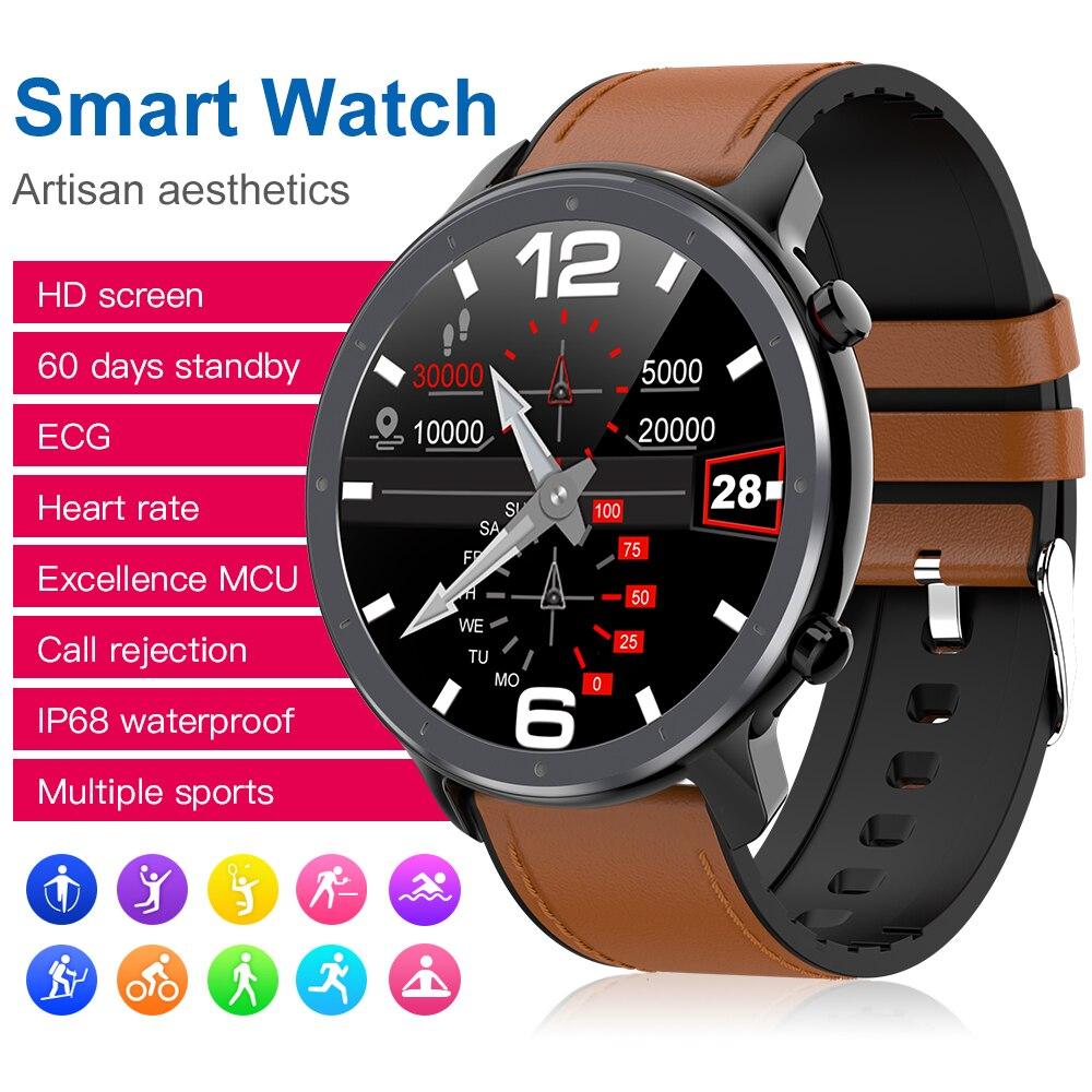 Montre intelligente numérique mode hommes affaires montre-Bracelet rappel d'appel de luxe moniteur de sommeil Bracelet musique à distance Smartwatch pour homme