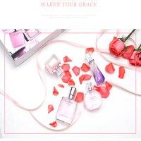 MayCreate Perfumed For Women Parfums Atomizer Fashion Lady Mini Spay Bottle Glass Long Lasting Women Perfumed 1Set 4Pcs