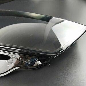 Image 2 - フロントヘッドライトヘッドライトガラスマスクランプカバー透明シェルランプマスクアウディ A3 2013 2016 レンズ