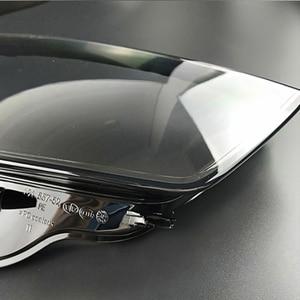 Image 2 - Ön farlar farlar cam maskesi lamba kapağı şeffaf kabuk lamba maskeleri Audi A3 2013 2016 lens