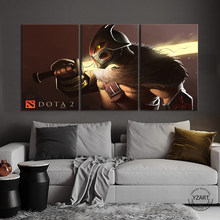 Digital Art Paintings Dota 2 Game Poster Artwork Canvas Wall Art Painting for Living Room Wall Decor,Unframed(China)
