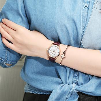 Marka Chenxi Casual zegarki damskie damskie zegarki diamentowe biznesowe damskie zegarki kwarcowe zegarki damskie zegarki wodoodporne tanie i dobre opinie QUARTZ Klamra CN (pochodzenie) Stop 3Bar Moda casual