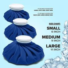 Medical Ice Bags Cool Ice Bag Reusable Sport Injury Durable Muscle Aches First Aid Relief Pain Health Care Cold Therapy Ice Pack