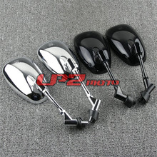 A Pair Motorcycle Side Mirrors Modification Accessories Simple Installation Universal for Yamaha XV1700 XV1600 XV750 XV535 XV400