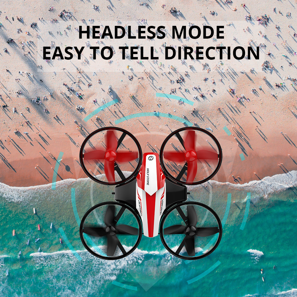 Image 4 - Holy Stone HS210 Mini RC Drone Toy Headless Drones Mini RC Quadrocopter Quadcopter Dron One Key Land Auto Hovering Helicopter-in RC Helicopters from Toys & Hobbies