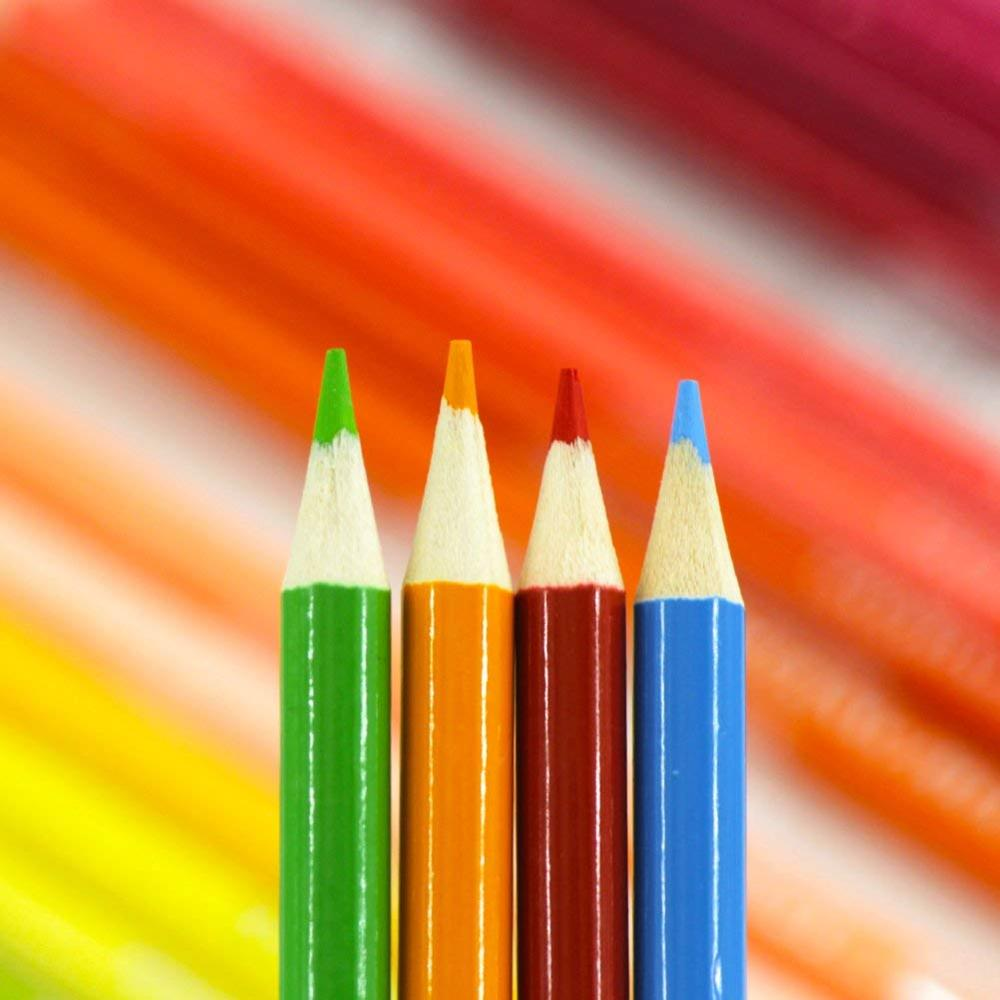 120 Colouring Pencils - 120 Unique Coloured Pencils and Pre Sharpened Crayons for Coloring Book,Ideal Gift for Artists 3