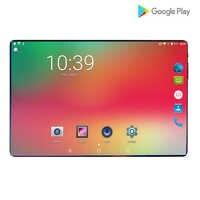 2019 Nuovo 2.5D Vetro Temperato di Potere 6000mAh 10 pollici Octa Core 4G FDD LTE Compresse 6GB di RAM 64GB di ROM Android 9.0 Tablet 10.1 + Regali