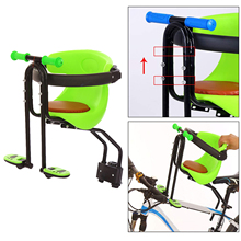 Bike Bicycle Safety Baby Kids Child Seat Saddle Children Front Carrier with Handrail Pedals