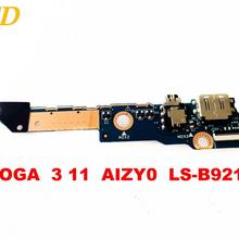 Original for Lenovo  YOGA  3 11 USB board Audio board  YOGA  3 11  AIZY0  LS-B921P  tested good free shipping