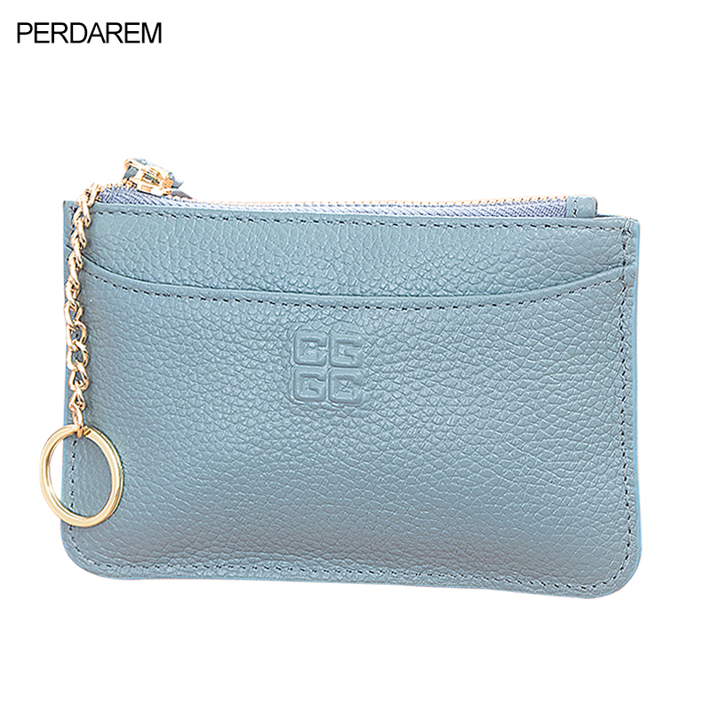 2019 Europe And The New Leather Short Paragraph Small Purse Female Simple Zip Coin Purse Small Fresh Coin Package
