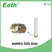 ขายส่ง 25 PCS 868 MHz 915MHZ เสาอากาศ 2 ~ 3dbi SMA Connector เสาอากาศ GSM 868 MHz 915 MHz antena สีขาวขนาดเล็ก antenne Lorawan