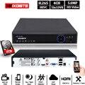 Аналоговая камера высокого разрешения 4CH система DVR наблюдения HDMI канал CCTV системы безопасности DVR Onvif Full HD 5.0MP Регистраторы 4CH набор 8/16CH Hybrid IP...