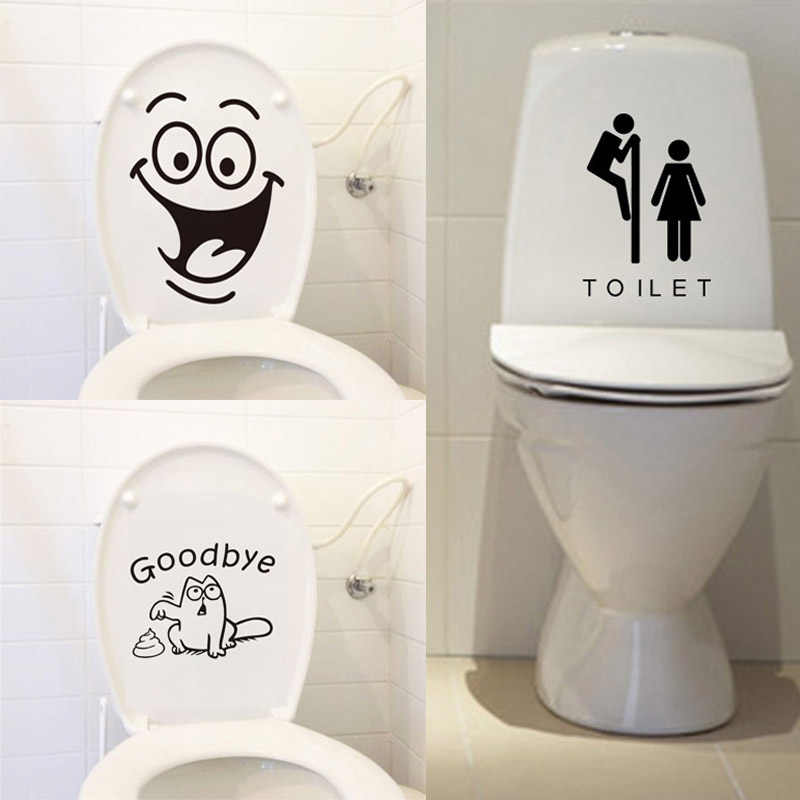 Removable 3D Wall Stickers Bathroom Toilet Kitchen Home DIY Decals 15Pattern