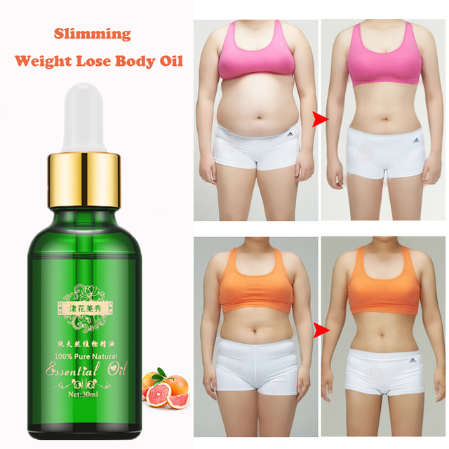 Weight Loss Essential Oils for Thin Leg, Waist Fat Burning and Anti Cellulite
