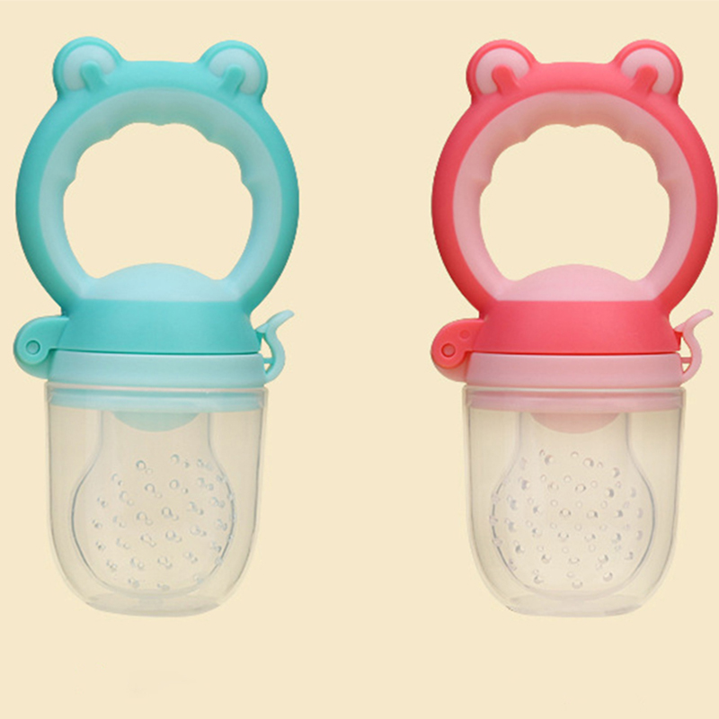 1Pcs Kid Nipple Feeding Safe Baby Supplies Baby Pacifier Fresh Food Milk Fruit Feeder Nipple Teat Pacifier Bottles For Baby Feed in Nipple from Mother Kids