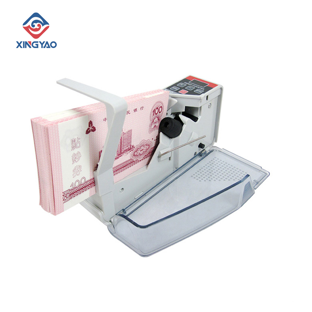 V40 Handy Bill Counter With Battery  Currency Counting  Machine For Cash/Banknote Paper Portable Money Counting Equipment