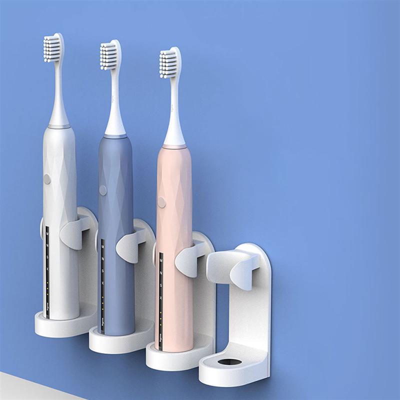Creative Acoustic Wave Electric Toothbrush Holder Self Stick Holder Bathroom Organizer White Electric Toothbrush Holder Toothbrush Toothpaste Holders Aliexpress