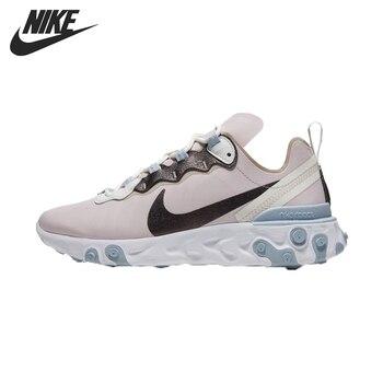 Original nueva llegada NIKE reaccionar elemento 55 SE mujeres corriendo Zapatos Zapatillas de deporte