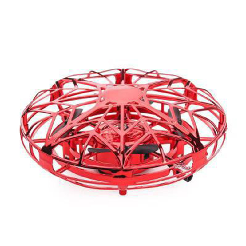 Mini Helicopter RC UFO Drone Aircraft Hand Sensing Infrared RC Quadcopter Electric Induction Toys for Children Christmas Gift 2