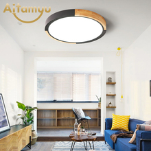 Creative Rings Modern Led Ceiling Light For Living Room Bedroom 18w Home Indoor Fixture AC90V-265V