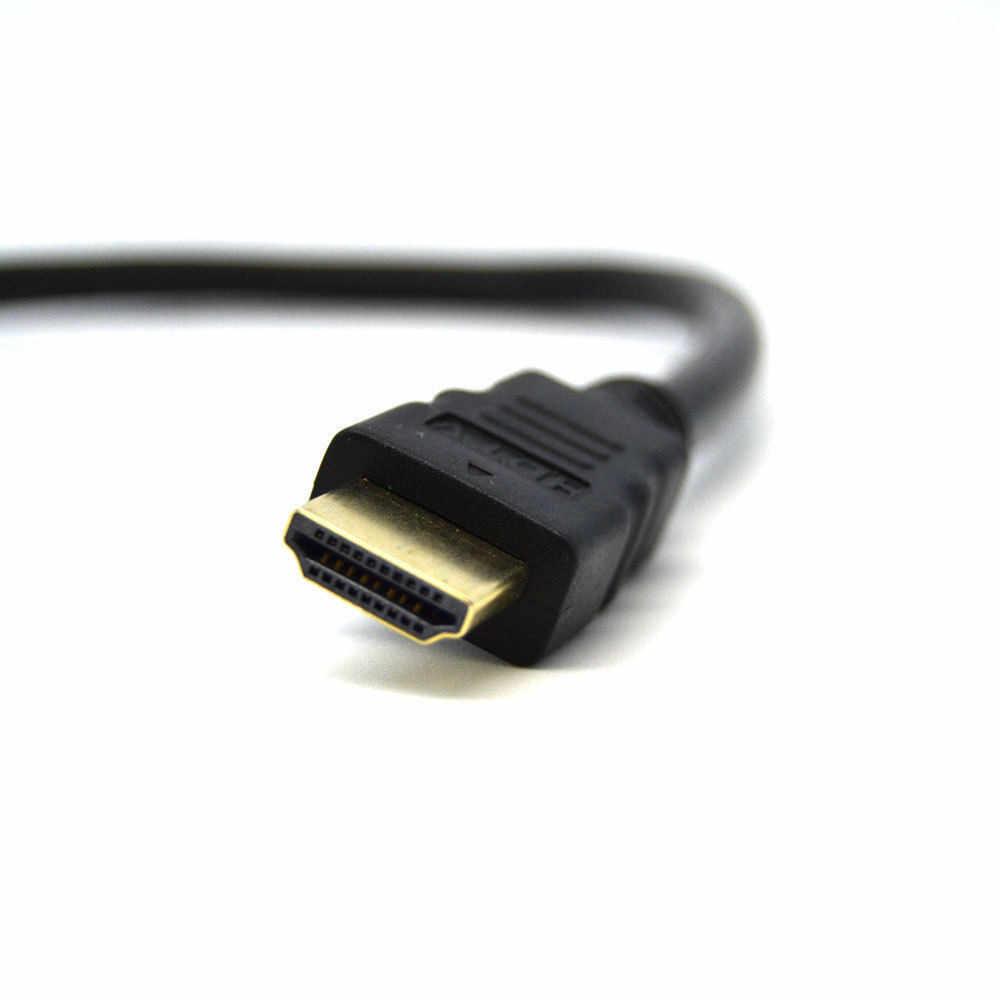 2 أنثى 1 في 2 FSU HDMI كابل كابلات الفيديو مطلية بالذهب 1080P ثلاثية الأبعاد كابل ل HDTV الخائن الجلاد الفاصل مهائي كابلات Conver