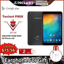 Teclast P80X 4G Tablet Android 9,0 Netbook Phablet Tabletten 8 zoll 1280x800 SC9863A Octa Core 2GB RAM 32GB ROM GPS Dual Kamera