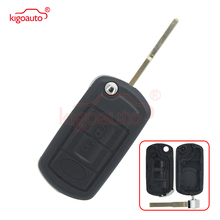 Flip key shell 3button HU101 blade for Land rover Range Rover Sport LR3 2005 2006 2007 2008 2009