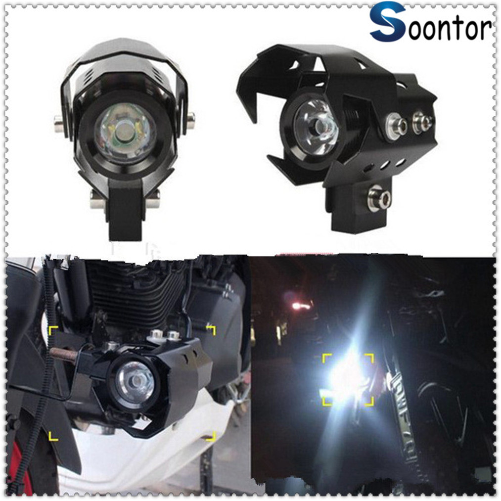 Motorcycle <font><b>Headlight</b></font> <font><b>LED</b></font> Fog Lamp Head Light Spotlight for <font><b>YAMAHA</b></font> YZF 600R Thundercat <font><b>R1</b></font> R6 R25 R3 FZ1 FAZER FZS image