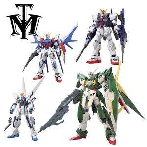 Image 1 - Anime Daban 13cm HG 1/144 Wing Gundam Fenice, modello di action figure giocattolo per bambini caldo assemblato Phoenix Robot puzzle regalo