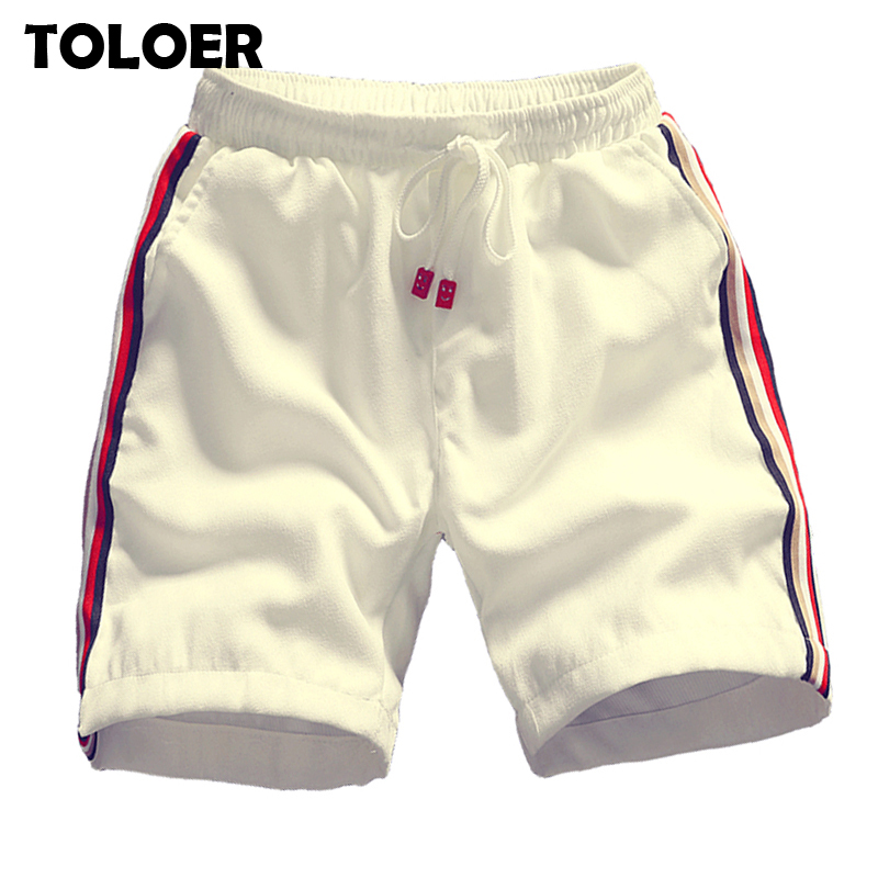 Fashion Striped Shorts Men 2020 Summer New Trend White Black Bermuda Beach Shorts Male Casual Cotton Board Short Pants 4XL 5XL