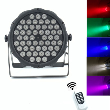 Wireless remote control 54x3W RGBW mini LED Par Wash Light For Event,Disco Party DJ dmx light disco