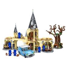 39145 Harri Movie Potter Hogwarts Castle model kids toys Building Blocks kit Brick Educational Toys for Children gift Compatible